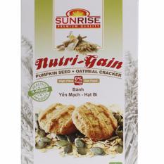Mẫu sản phẩm Bánh ăn kiêng Yến Mạch hạt Bí – 178g – Nhập khẩu Malaysia