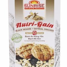 Bánh ăn kiêng Yến Mạch Mè đen – 178g – Nhập khẩu Malaysia