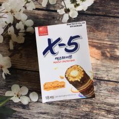 Bánh ChocoStar X5 Peanut Crunch Bar cao cấp Korea