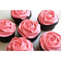 Bánh cupcake hoa hồng