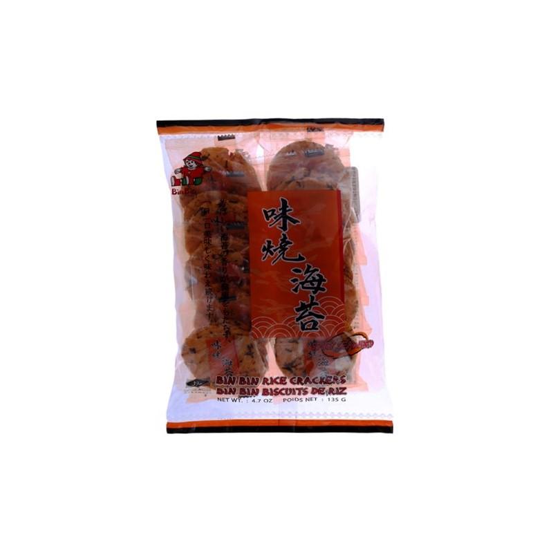 So Sánh Giá Bánh gạo BinBin vị Rong biển cay gói 135g