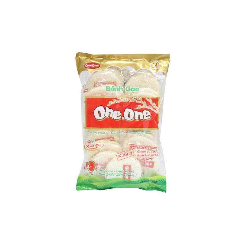 Địa Chỉ Bán Bánh gạo One.One vị ngọt dịu gói 150g