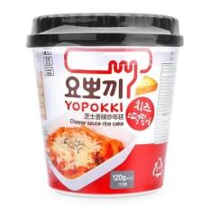 Bánh gạo Topokki sốt phomai Yopokki hộp 120g