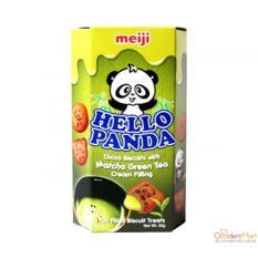 Bánh gấu Meiji Hello Panda 50gr *10 vị Matcha
