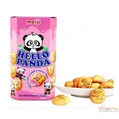 Bánh gấu MEIJI Hello Panda 50gr – vị DÂU