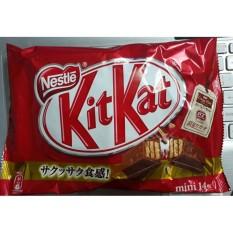 Bánh Kitkat socola gói 12 thanh