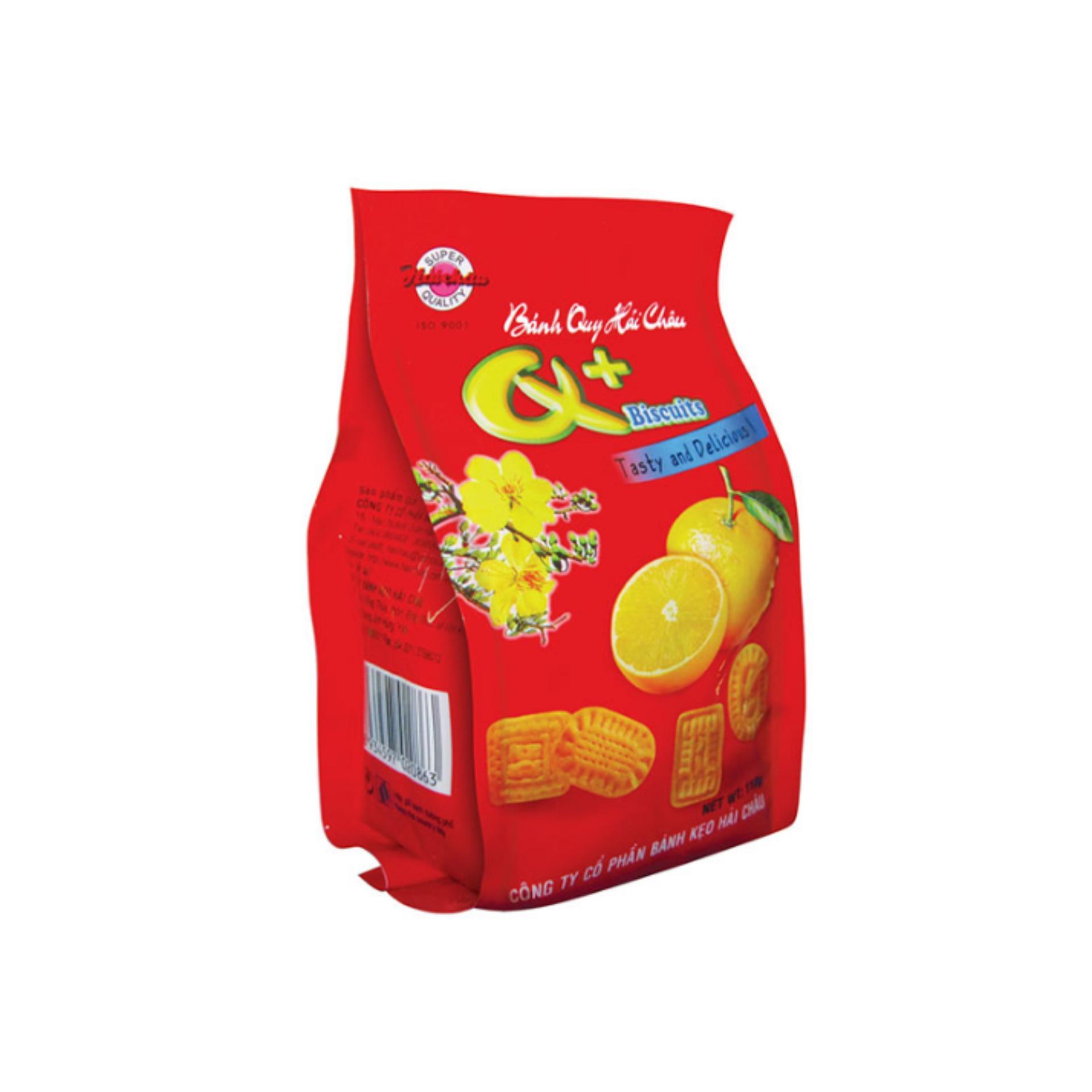 Bộ 4 túi Bánh quy + 110gr