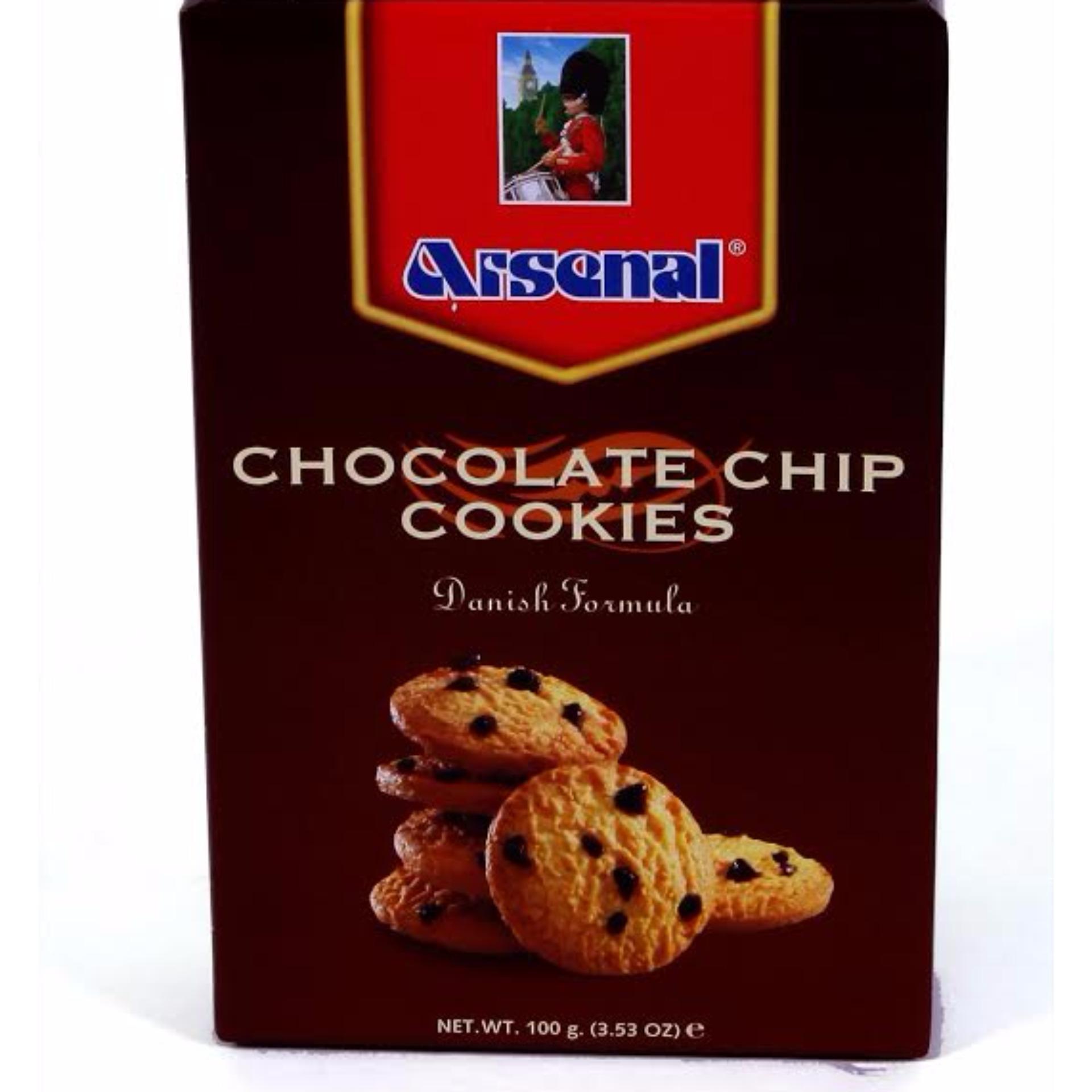 "Bánh quy ""Arsenal"" -chocolate chip 100g"