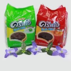 Bánh quy CreamO Choco plus Jack & Jill vị Caramel Thái Lan