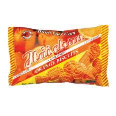 Bộ 5 gói Bánh quy Hương cam 130gr
