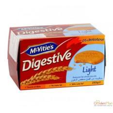 Địa Chỉ Bán Bánh Quy Lúa Mì McVitie's Digestive Light 250g (Gói)