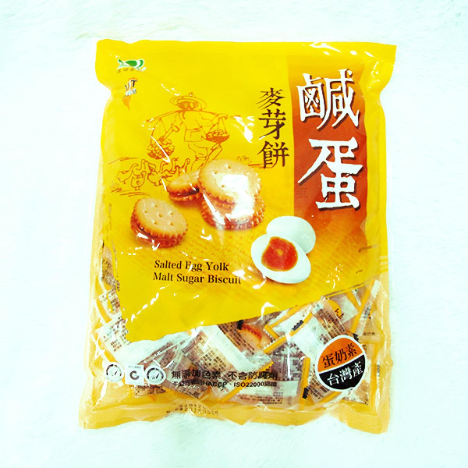 Bánh quy nhân trứng muối 180g của Đài Loan