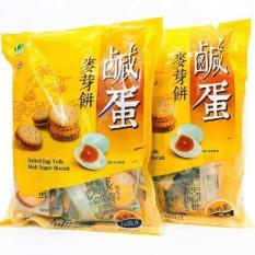 Bánh Quy Nhân Trứng Muối Đài Loan 500gr DL01