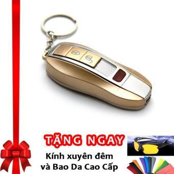 Bật lửa hồng ngoại kiêm móc khóa xe hơi kèm cáp sạc F525 (Vàng) + Tặng kính xuyên đêm và bao da cao cấp - 8660525 , OE680WNAA4WX9MVNAMZ-9056550 , 224_OE680WNAA4WX9MVNAMZ-9056550 , 180000 , Bat-lua-hong-ngoai-kiem-moc-khoa-xe-hoi-kem-cap-sac-F525-Vang-Tang-kinh-xuyen-dem-va-bao-da-cao-cap-224_OE680WNAA4WX9MVNAMZ-9056550 , lazada.vn , Bật lửa hồng ngoại ki