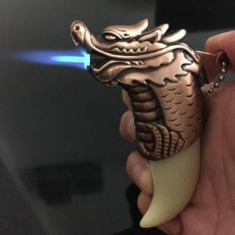 Bật Lửa Khò Nanh Sói Già (Đầu Rồng)