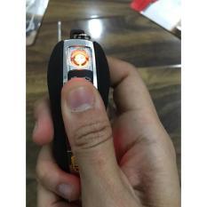 Bật lửa sạc điện hình xe hơi có kèm móc khóa siêu cute(mẫu mới)