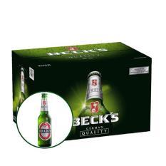Beck's chai 330ml – Thùng 24
