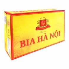 Bia Hà Nội Habeco thùng 24 lon x 330ml