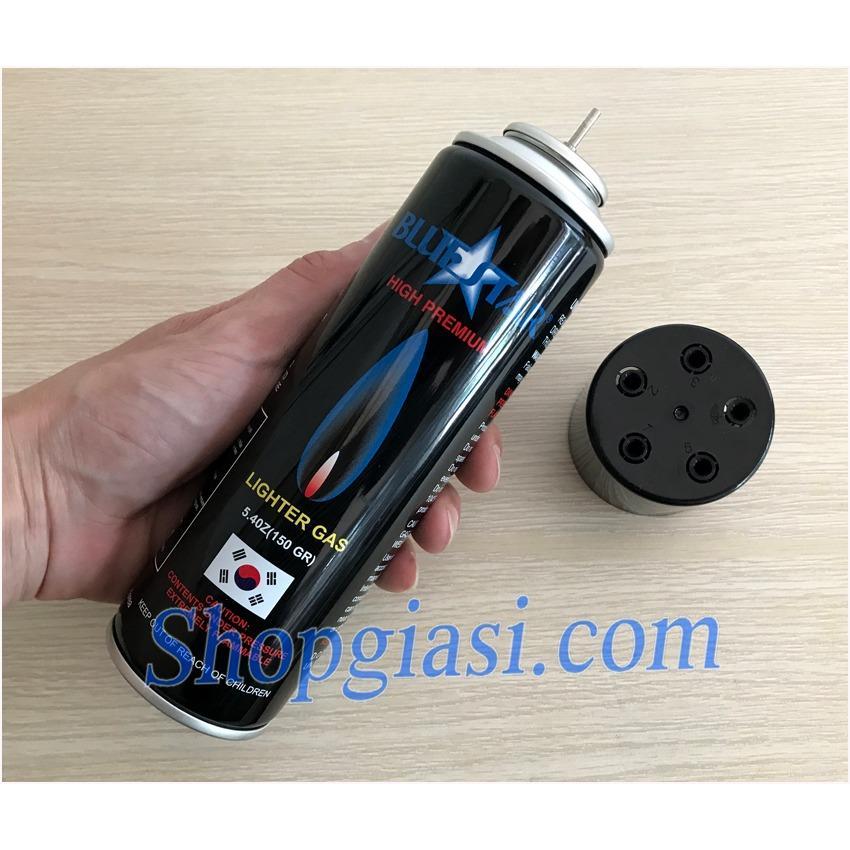 Bình Gas BlueStar Chuyên Dùng Cho Bật Lửa