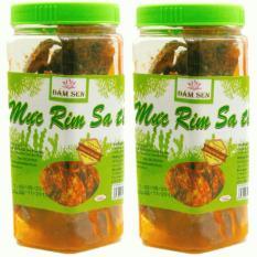 Bộ 02 hộp Mực rim sa tế ăn liền đặc sản Phan Thiết 150g