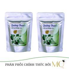 Bộ 02 túi bột lá diếp cá sấy lạnh Quảng Thanh đảm bảo VSATTP 100gram/túi