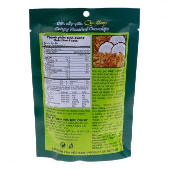 Bộ 10 gói Dừa sấy giòn Quê hương vị sầu riêng. 28G - 2