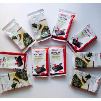 Bộ 10 gói rong biển cay và không cay Hàn Quốc, Ăn liền, ăn chayđược, ngon hơn ăn với cơm nóng - 8228644 , KO869WNAA38DZKVNAMZ-5652761 , 224_KO869WNAA38DZKVNAMZ-5652761 , 179000 , Bo-10-goi-rong-bien-cay-va-khong-cay-Han-Quoc-An-lien-an-chayduoc-ngon-hon-an-voi-com-nong-224_KO869WNAA38DZKVNAMZ-5652761 , lazada.vn , Bộ 10 gói rong biển cay và khô