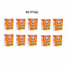 Bộ 10 hộp Bột nở Baking Soda đa công dụng Arm & Hammer 454g