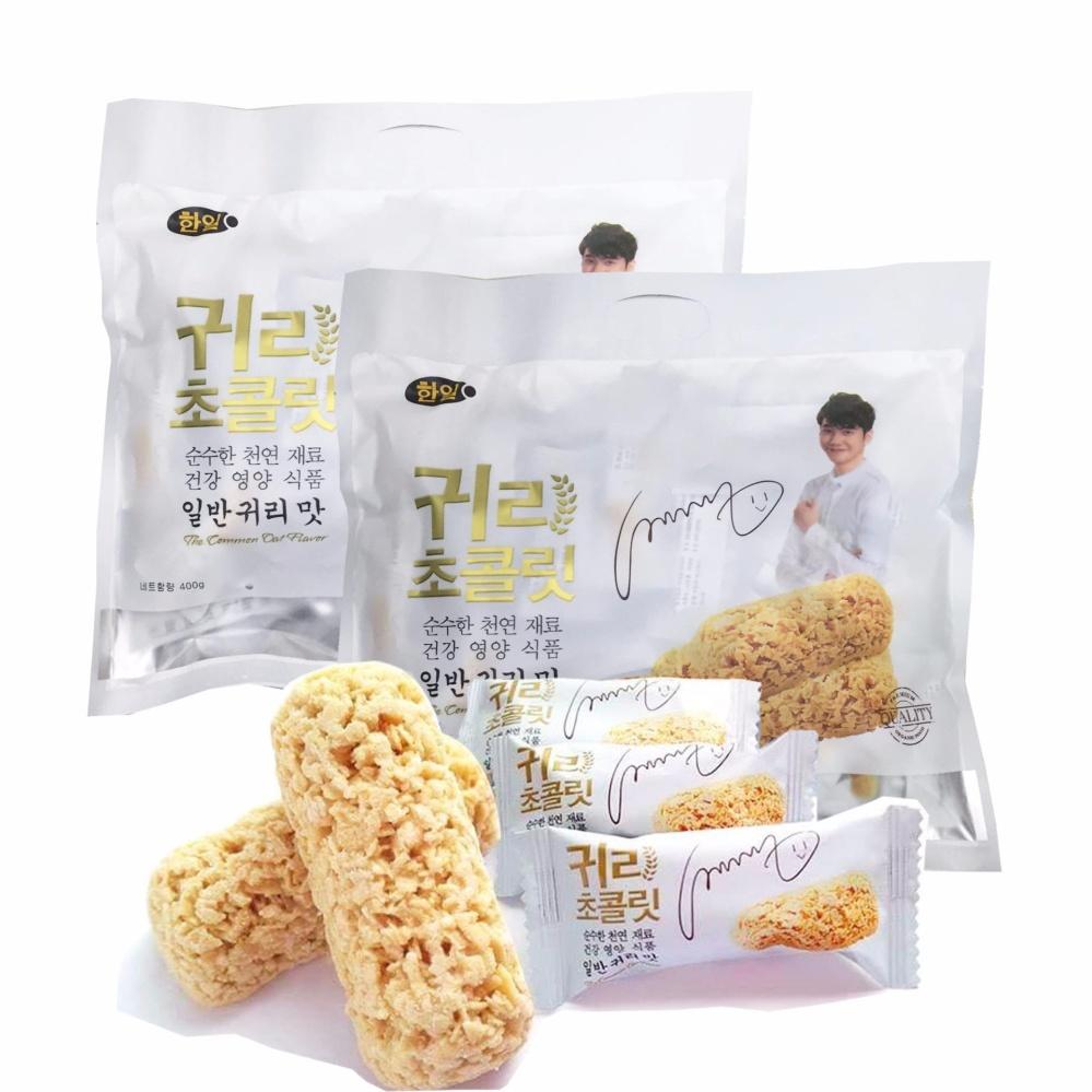 Bộ 2 bịch bánh yến mạch Hàn Quốc (80 bánh)