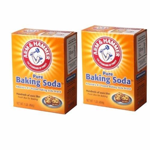 Bộ 2 bột nở Baking Soda đa công dụng 454g