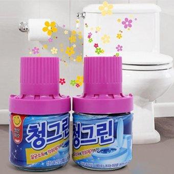 Bộ 2 Chai sáp thơm Hàn Quốc thả bồn cầu khử mùi, diệt khuẩn