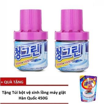 Bộ 2 chai sáp thơm thả bồn cầu hương Lavender - Sản xuất tại Hàn Quốc 400g/Chai + Tặng 1 túi tẩy vệ sinh lồng giặt Hàn Quốc - 8353629 , NO007WNAA2UZIJVNAMZ-4932273 , 224_NO007WNAA2UZIJVNAMZ-4932273 , 189000 , Bo-2-chai-sap-thom-tha-bon-cau-huong-Lavender-San-xuat-tai-Han-Quoc-400g-Chai-Tang-1-tui-tay-ve-sinh-long-giat-Han-Quoc-224_NO007WNAA2UZIJVNAMZ-4932273 , lazada.vn , B