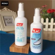Bộ 2 chai xịt vệ sinh, tẩy trắng giầy và túi xách PLAC 100ml