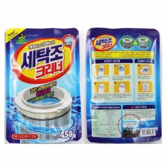 Bộ 2 gói bột tẩy vệ sinh lồng máy giặt Sandokkaebi Korea