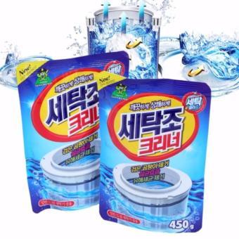 Bộ 2 gói bột vệ sinh tẩy lồng máy giặt Hàn Quốc 450Gr - SMB