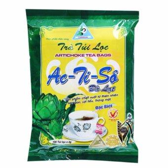 Bộ 2 gói Trà Atiso Ladophar 100 túi lọc