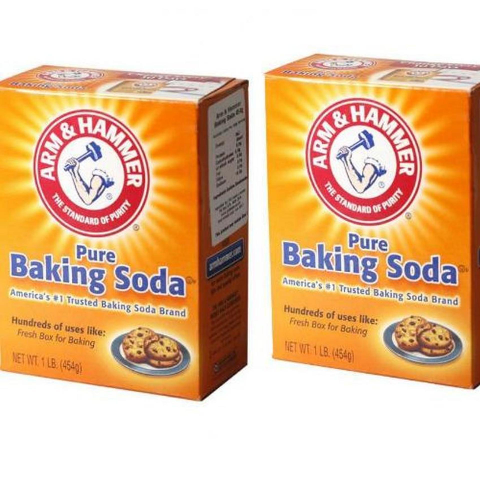 Giá KM Bộ 2 hộp bột Banking Soda đa công dụng Arm & Hammer 454g