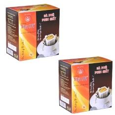 Bộ 2 hộp cà phê phin giấy Thu Hà 120 gram
