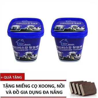 Bộ 2 hộp Kem tẩy rửa nhà bếp đa năng Cao cấp Hàn Quốc+ Tặng Miếng cọ đa năng - 8353831 , NO007WNAA35R1XVNAMZ-5514312 , 224_NO007WNAA35R1XVNAMZ-5514312 , 139000 , Bo-2-hop-Kem-tay-rua-nha-bep-da-nang-Cao-cap-Han-Quoc-Tang-Mieng-co-da-nang-224_NO007WNAA35R1XVNAMZ-5514312 , lazada.vn , Bộ 2 hộp Kem tẩy rửa nhà bếp đa năng Cao cấp