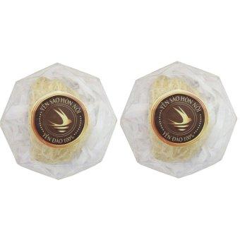 Bộ 2 hộp yến trắng tinh chế loại 2 10g