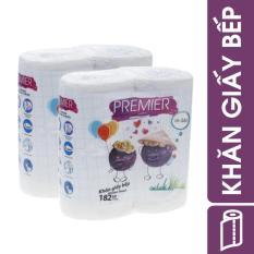 Bộ 2 Khăn giấy bếp Kitchen Towel Premier [ NTPM – GB MY 02 ]