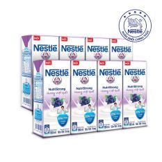 Bộ 2 lốc Sữa tiệt trùng NESTLÉ hương việt quất (180ml/hộp)