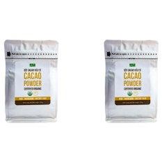 Bộ 2 túi bột Cacao nguyên chất hữu cơ Hola Andina 200g
