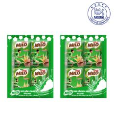 Bộ 2 túi MILO ACTIV-GO 3-TRONG-1 dạng bột (10 gói x 22g/gói)