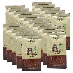 20 gói cà phê Arabica & Robusta xay pha phin nguyên chất Phúc Nguyên – 10kg