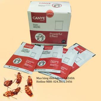Bộ 25 gói thuốc diệt kiến, gián, côn trùng Canye dạng bột