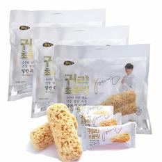 Bộ 3 bịch bánh yến mạch Hàn Quốc (120 bánh) [SuPhat Shop]