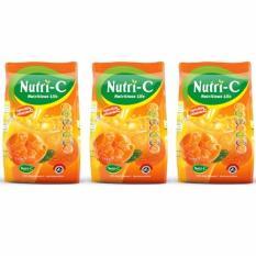 Bộ 3 bịch Bột Cam Nutri-C American Sweet Orange 750g