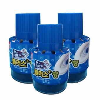 Bộ 3 chai tẩy vệ sinh Toilet Hàn Quốc Mr.Fresh 180Gr