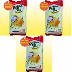 Bộ 3 gói Bánh Pía chay Sầu Riêng Tân Huê Viên